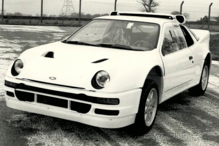 Ford RS 200 - Front