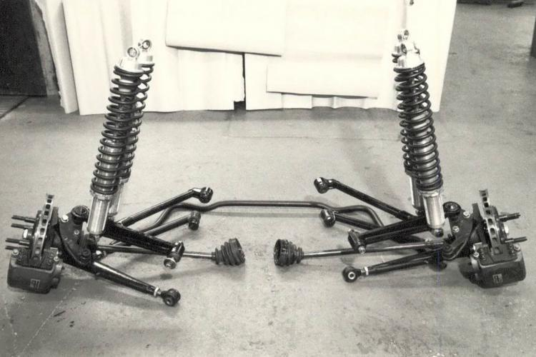 Ford RS 200 - Front Suspension Setup